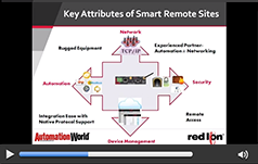 Smart Remote Connected Sites: Using Cellular Automation to Monitor & Control Assets